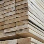 Stacked wood