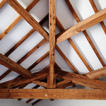 Lumber Used for Wood Beams on Ceiling